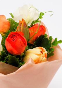 バレンタインお花