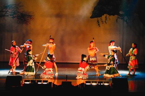 タイヤル族踊り