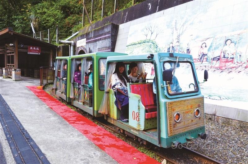 トロッコ列車 出典:新北市観光旅遊局