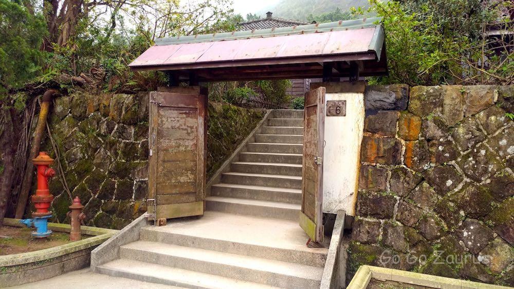 金瓜石太子賓館門