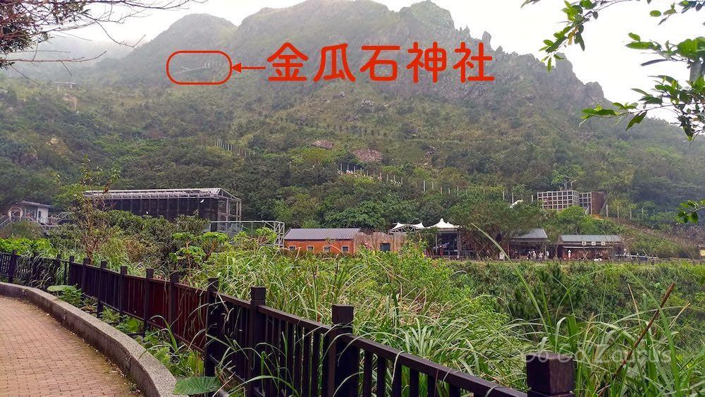 金瓜石神社の場所