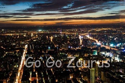 台北101から見た夜景