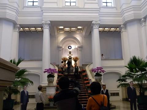 台湾総統府内部2