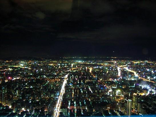 台北101夜景