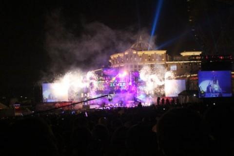 台湾101 年越しコンサート