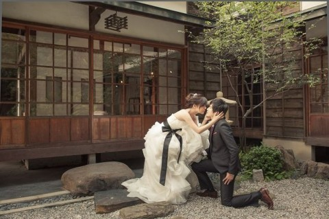 北投文物館結婚