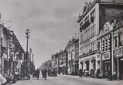 日本統治時代の街並み