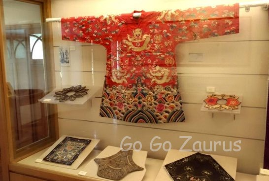 北投文物館民族衣装展示