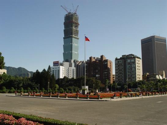 台北101工事