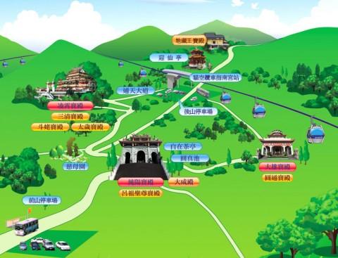 指南宮全景絵図