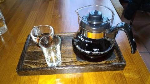 爐鍋咖啡 阿里山珈琲
