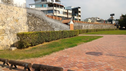 鳳山懸舊城城壁