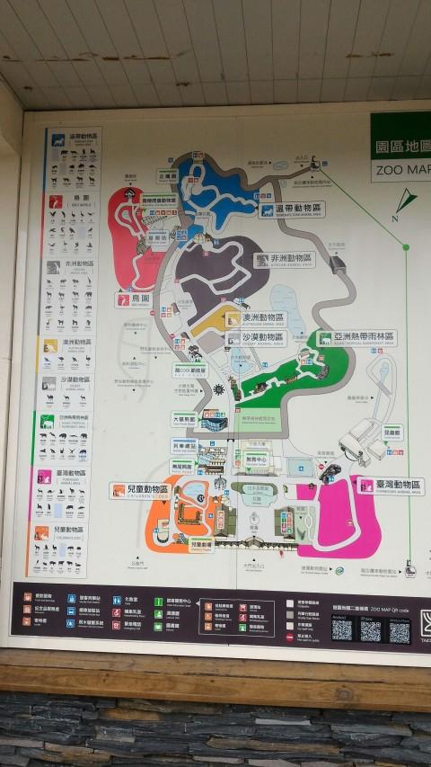 動物園内全図