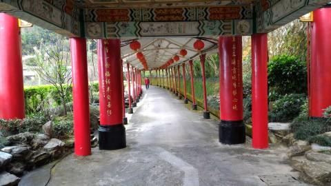 各寺院を結ぶ通路