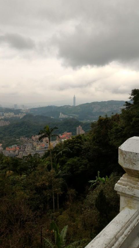 凌霄寶殿から台北101