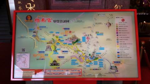 指南宮全景 地図としては見難い