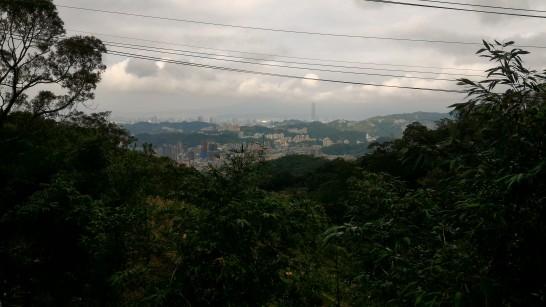 猫空から台北101