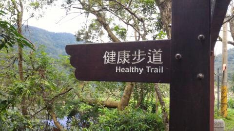 健康歩道案内板
