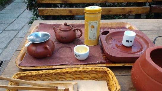 邀月茶坊 お茶セット