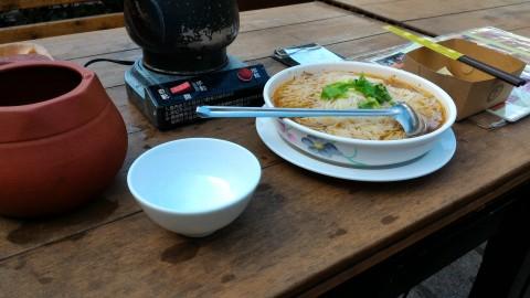 邀月茶坊 茶油麺線