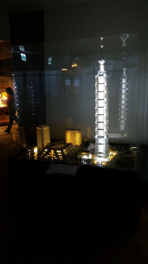 台北101 89階展望台 模型