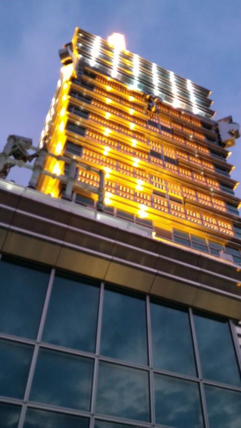 台北101 91階から上を見る