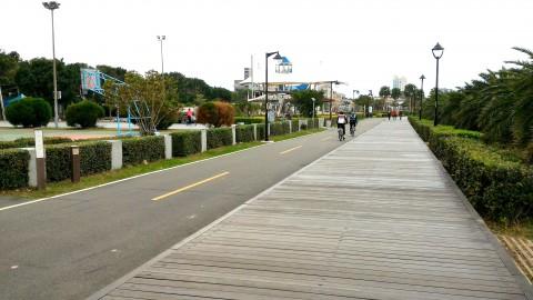 八里の自転車道2