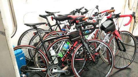 台湾人サイクリストの自転車