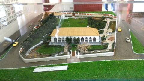 小白宮全景模型