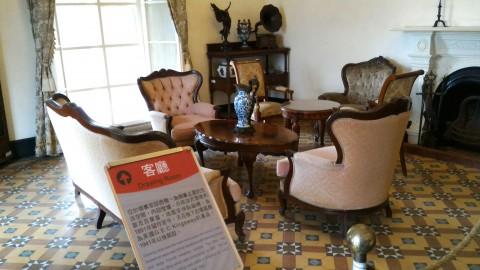 紅毛城領事館室内4
