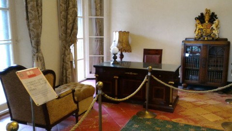 紅毛城領事館室内3