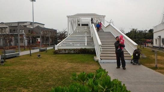 紅毛港文化公園スカイウォーク1