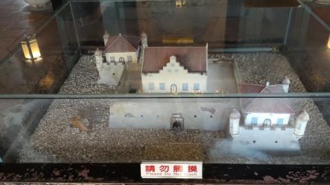 赤崁楼模型