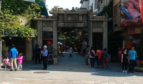 府中街入り口