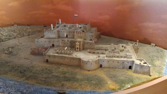 安平古堡ゼーランディア城復元模型