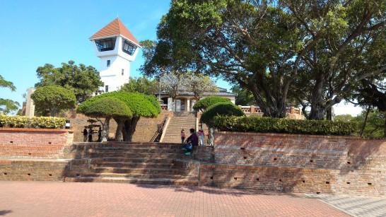 安平古堡史跡記念館と展望台