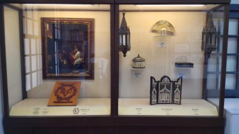 安平古堡展示物