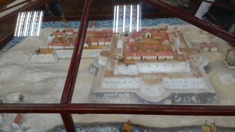 安平古堡復元模型