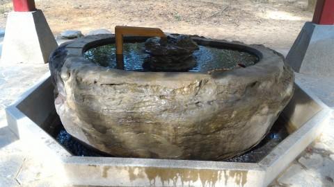 嘉義神社 手水鉢3