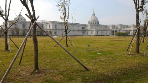 庭園から博物館