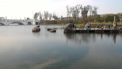 風望埠頭とオリンポス橋