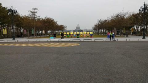 正門から博物館全景