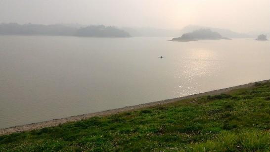 烏山頭ダム湖