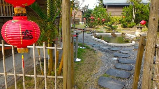 八田與一宅の裏庭2