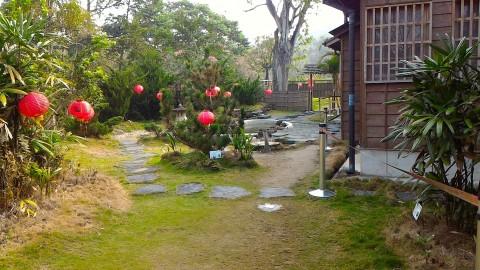 八田與一宅の裏庭