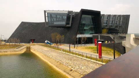 博物館正面