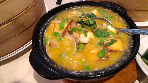 濟南鮮湯包蟹黄海鮮豆腐