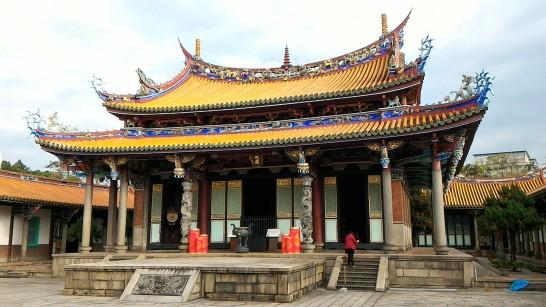 台北孔子廟大成殿