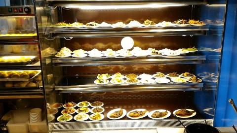 盛園絲瓜小籠湯包の小菜
