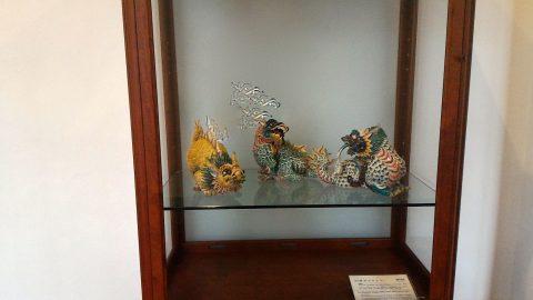 廊下の展示物1